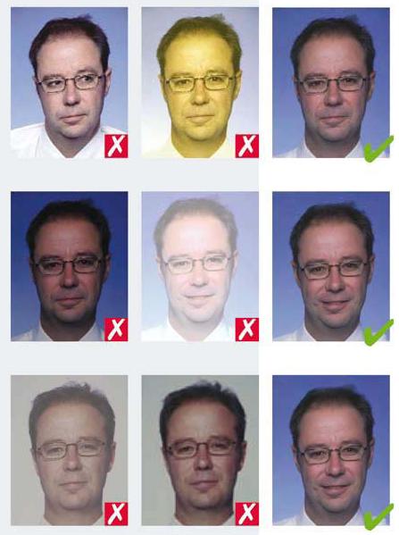 примеры фотографий на визу