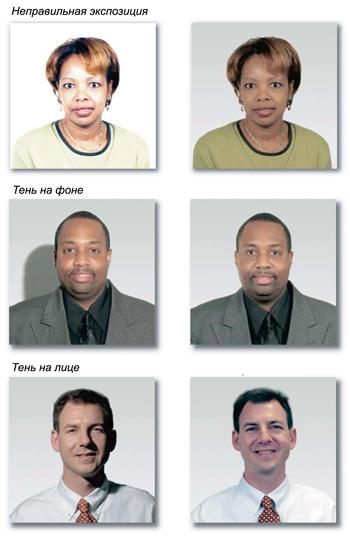 примеры фото на визу Шенген